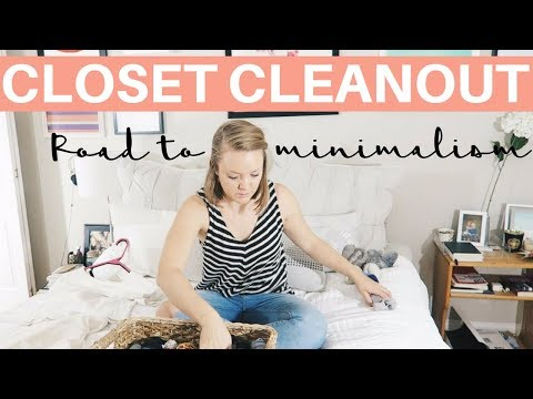 MAJOR CLOSET CLEANOUT | Minimalist Journey - Step One