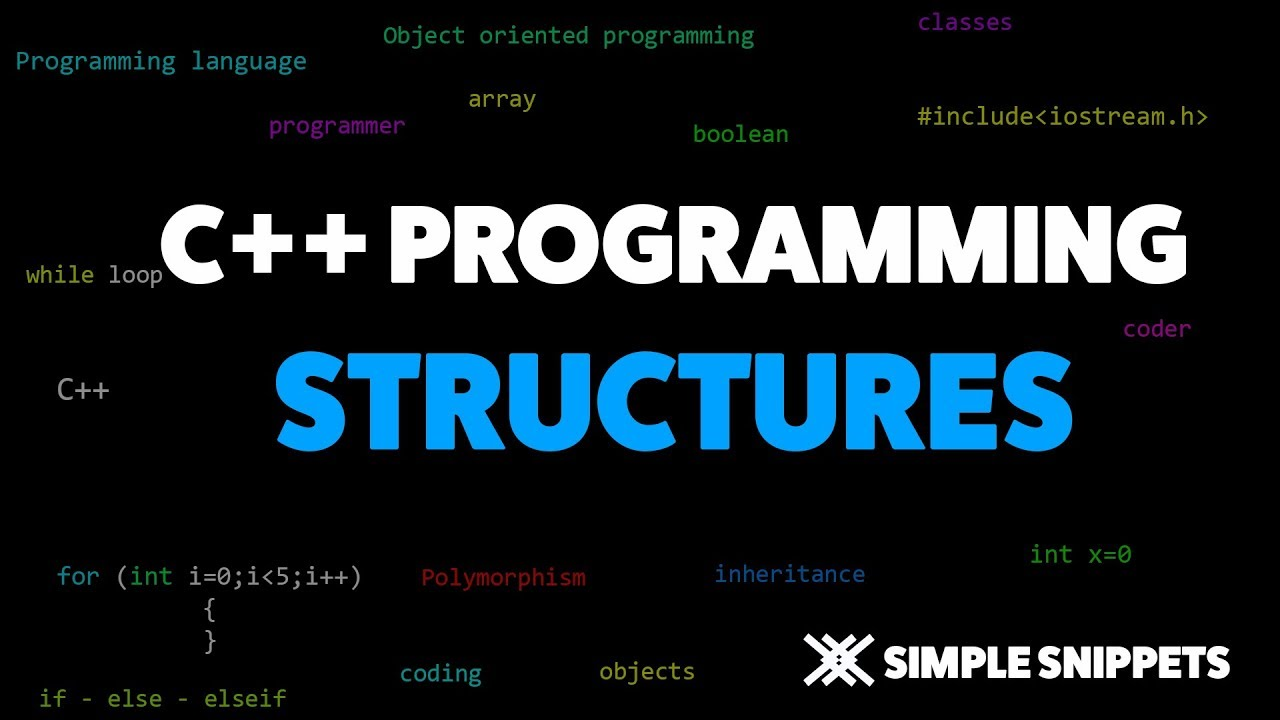 Structures in C++ - Simple Snippets