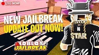 🔴 NEW ROBLOX JAILBREAK UPDATE OUT NOW!! | Roblox Jailbreak | Roblox Live