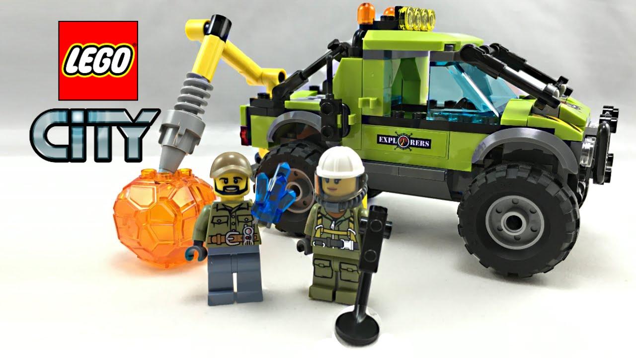 LEGO City Volcano Exploration Truck set review! 60121 ...