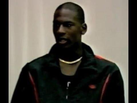 RARE FOOTAGE: Michael Jordan (Age 22) In London, England - Brixton Basketball Club (1985)