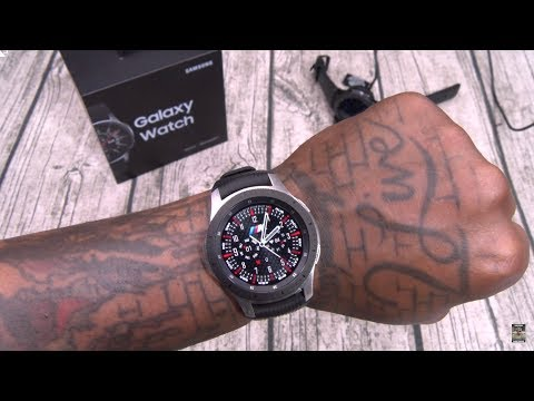 Samsung Galaxy Watch Unboxing and First Impressions