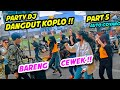 PARTY DJ DANGDUT KOPLO !! JOGET BARENG CEWEK BARBAR DI LAMPU MERAH  DJ TIK TOK  PRANK INDONESIA