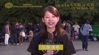 明治安田生命2015Jリーグチャンピオンシップ 決勝 ・第1戦 G大阪v...