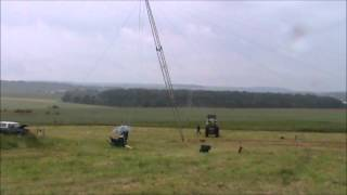 F8FKI, biggest vertical antenna for 160 Meter band in France