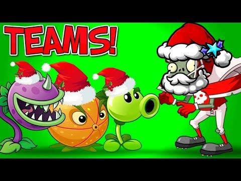 TEAMS Plants vs Zombies 2 Part 2 Every Team vs All Star Zombie YouTube Comment Teams PVZ 2