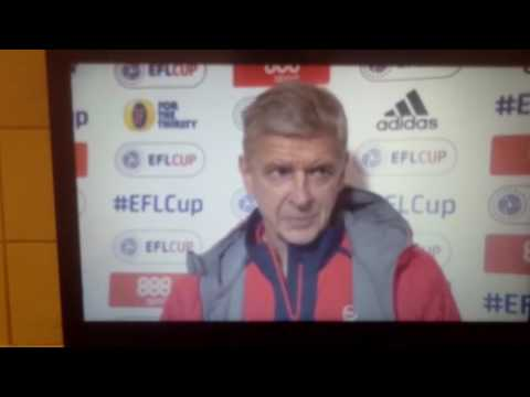 Nottingham Forest vs Arsenal: Arsene Wenger Post Match Interviews