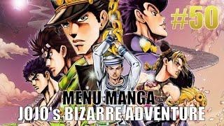 JOJO's BIZARRE ADVENTURES -MENU MANGA 50