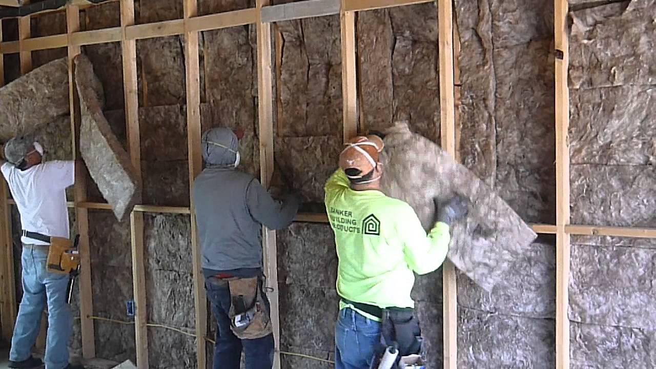 showcase walls magazine easier insulation putting ideas insulating ceiling garage in never wood shop men