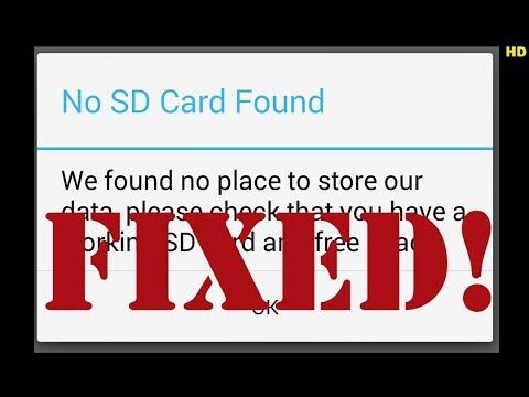 No SD Card Found Spotify Fix
