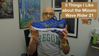 5 Things I Like About Mizuno Wave Rider 21