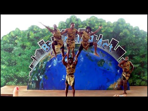 Balancing Act African Acrobat Performance