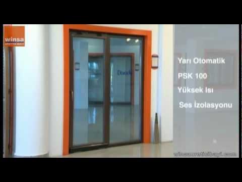 winsa - yarı otomatik paralel sürme kapı (volkswagen sürme) - youtube