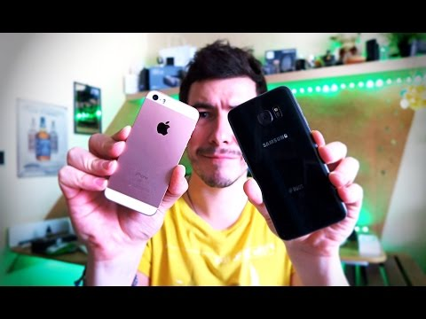 iPhone SE против Galaxy S7 Edge - Камера