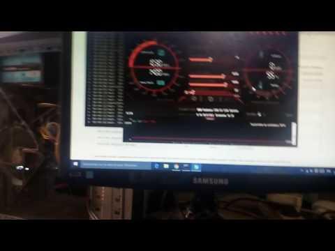 MSI R7 370 4gb Ethereum Test