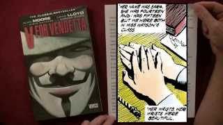 Whispering Valerie's Letter from Alan Moore and David Lloyd's V for Vendetta - ASMR - Male