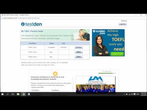 How to Improve and Measure  your TOEFL iBT Skills Through Online TestDen TOEFL IBT Practice Tests.
