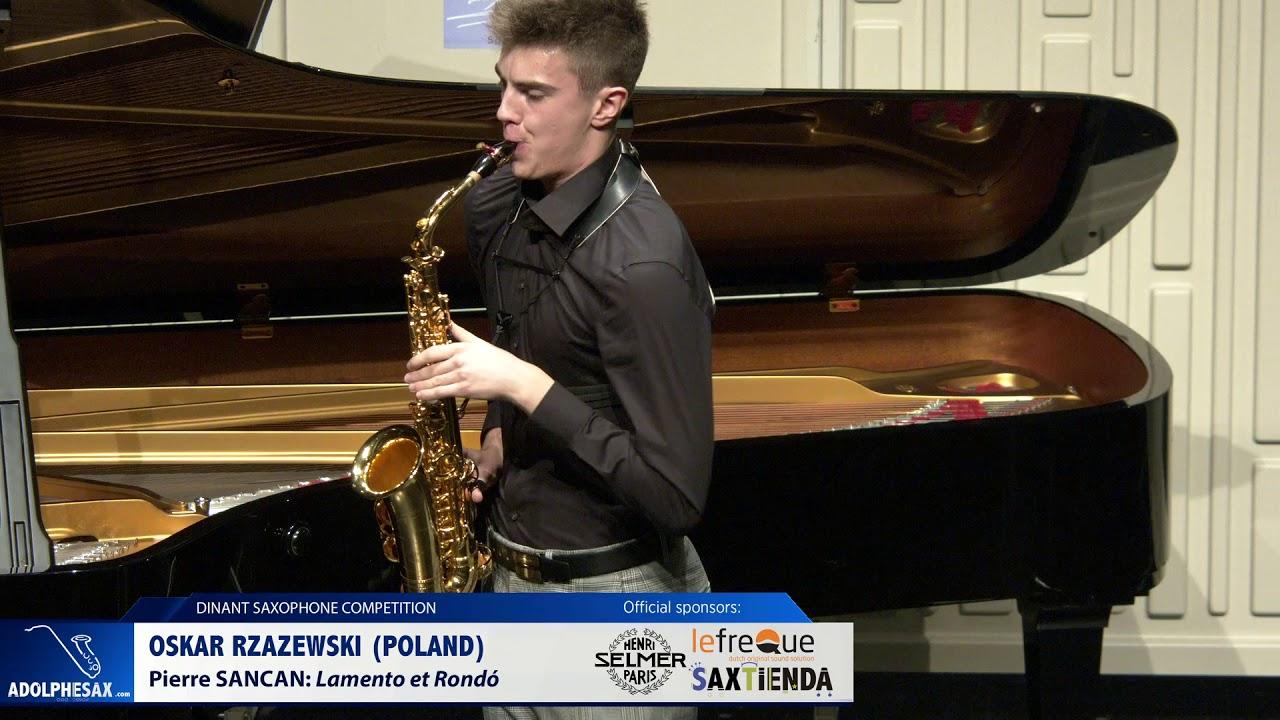Oskar Rzazewski (Poland) - Lamento et Rondó by Pierre Sancan (Dinant 2019)