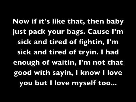 Ain't Really Love by Mary J. Blige (with lyrics)