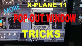 X-Plane 11 Pop-Out Tricks
