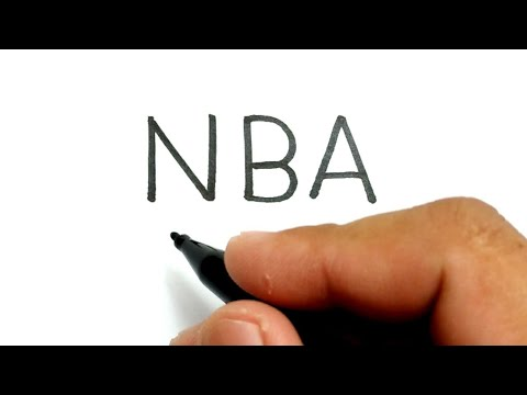 RIP, how to turn words NBA into KOBE BRYANT basketball lakers player legend