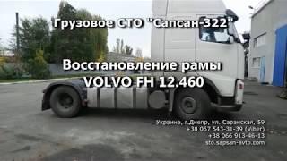 Ремонт (восстановление) и усиление рамы VOLVO FH 12.460