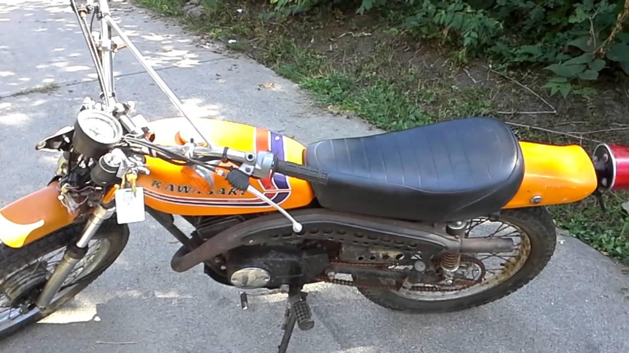 1973 Kawasaki 100 1975 Wiring Diagram And The Ke Lives Youtube 1280x720