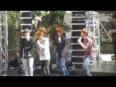 091203 SHINee Ring Ding Dong Rehearsal @ Central Chidlom