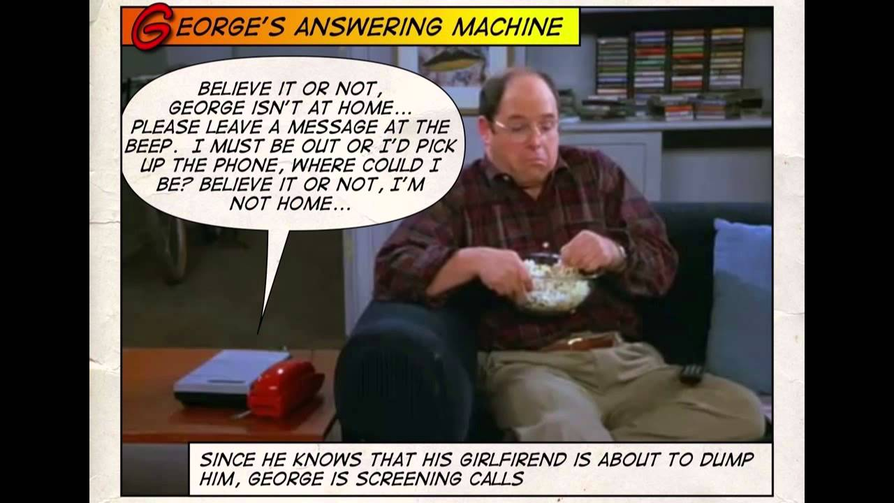 george s answering machine