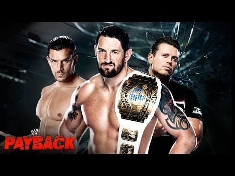 WWE Triple Threat For The IC Title - مصارعه حره 2014 جديده - المصارعه الحره الجديده