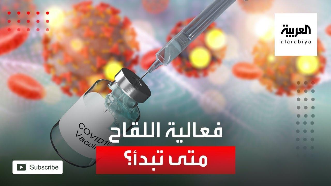 صورة فيديو : متى يبدأ اللقاح في مقاومة كورونا؟