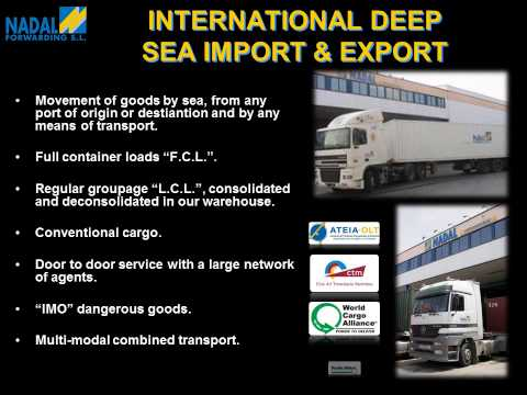 NADAL FORWARDING, S.L. - Customs Agents - International Transport - Logistic Solutions