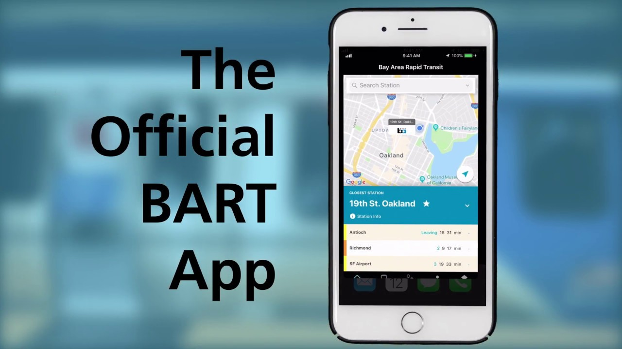 BART Apps | bart gov