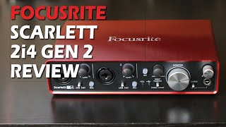 Focusrite Scarlett 2i4 Gen 2 Review