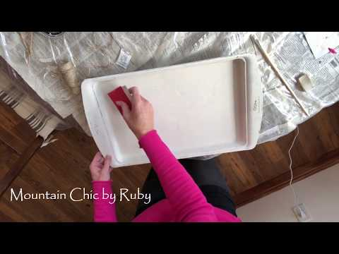 DIY Farmhouse Three Tier Trays by Mountain Chic