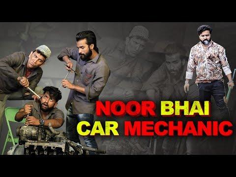 NOOR BHAI CAR MECHANIC || HYDERABADI COMEDY || Shehbaaz Khan Comedy