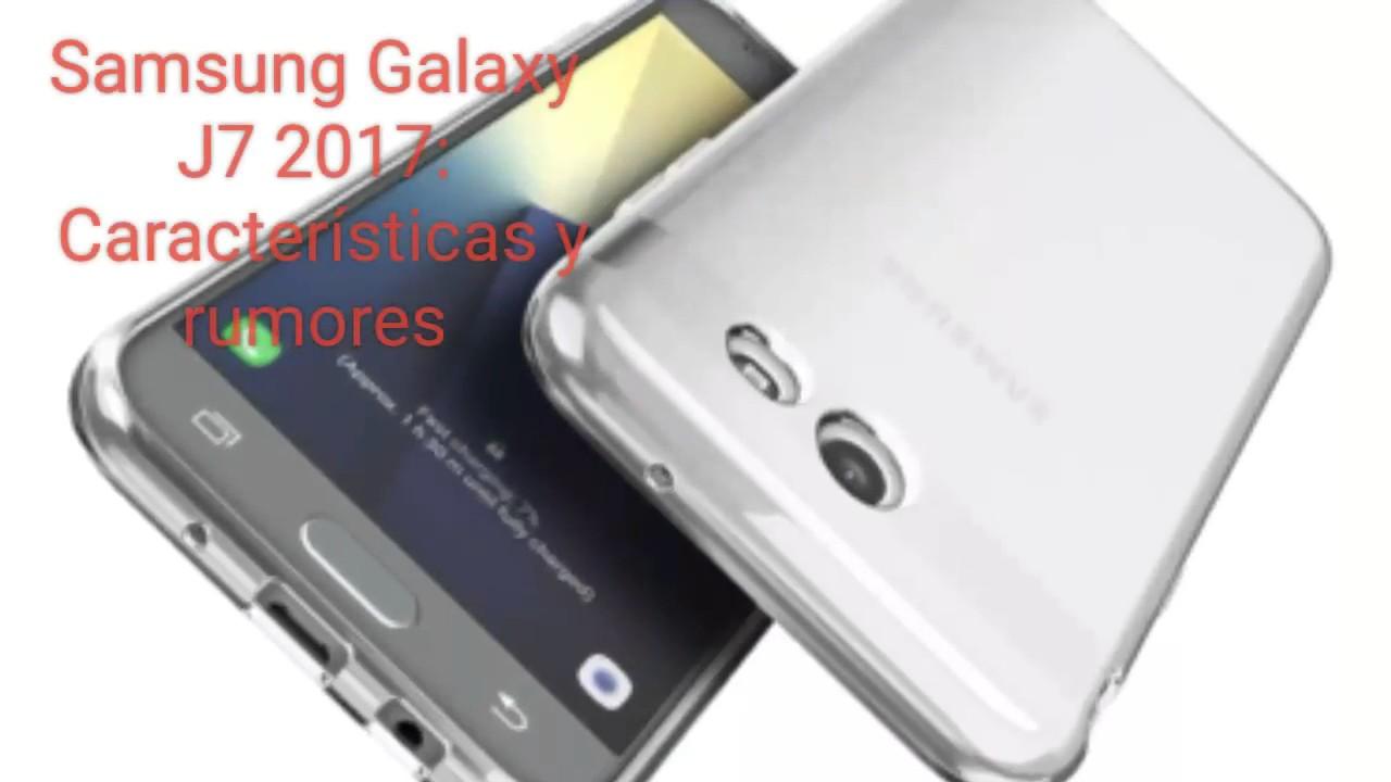 5541de9f57e Samsung Galaxy J7 2017: Características, rumores y precio - YouTube
