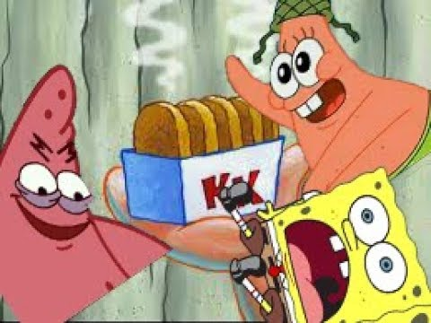Youtube Poop Spongebob And Patrick Like Hashbrowns
