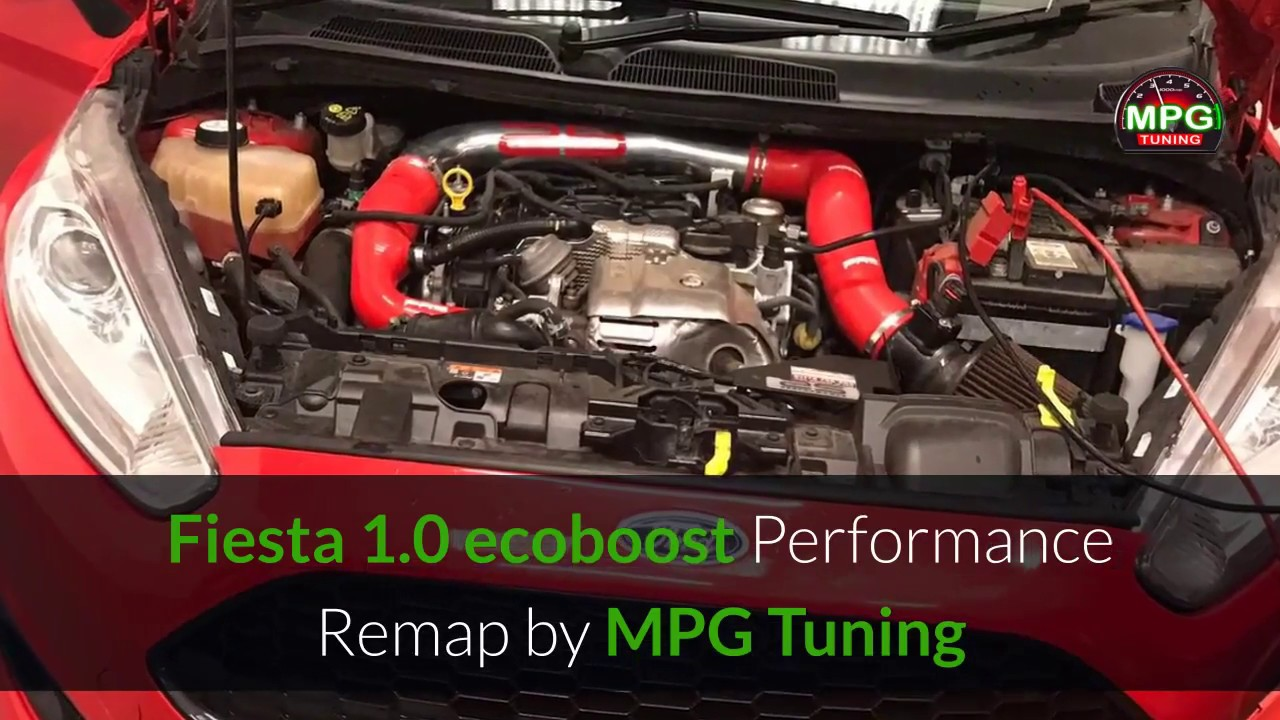 Ford Fiesta 1 0 Ecoboost 140hp Performance Remap
