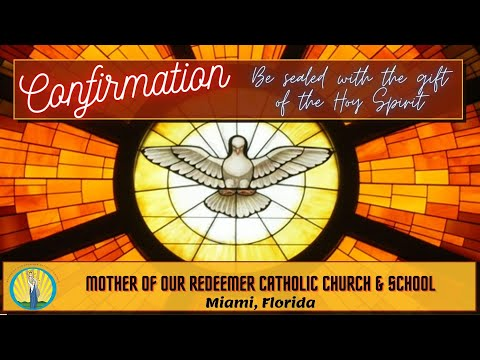 Confirmations 2020 - Mother of Our Redeemer Catholic School