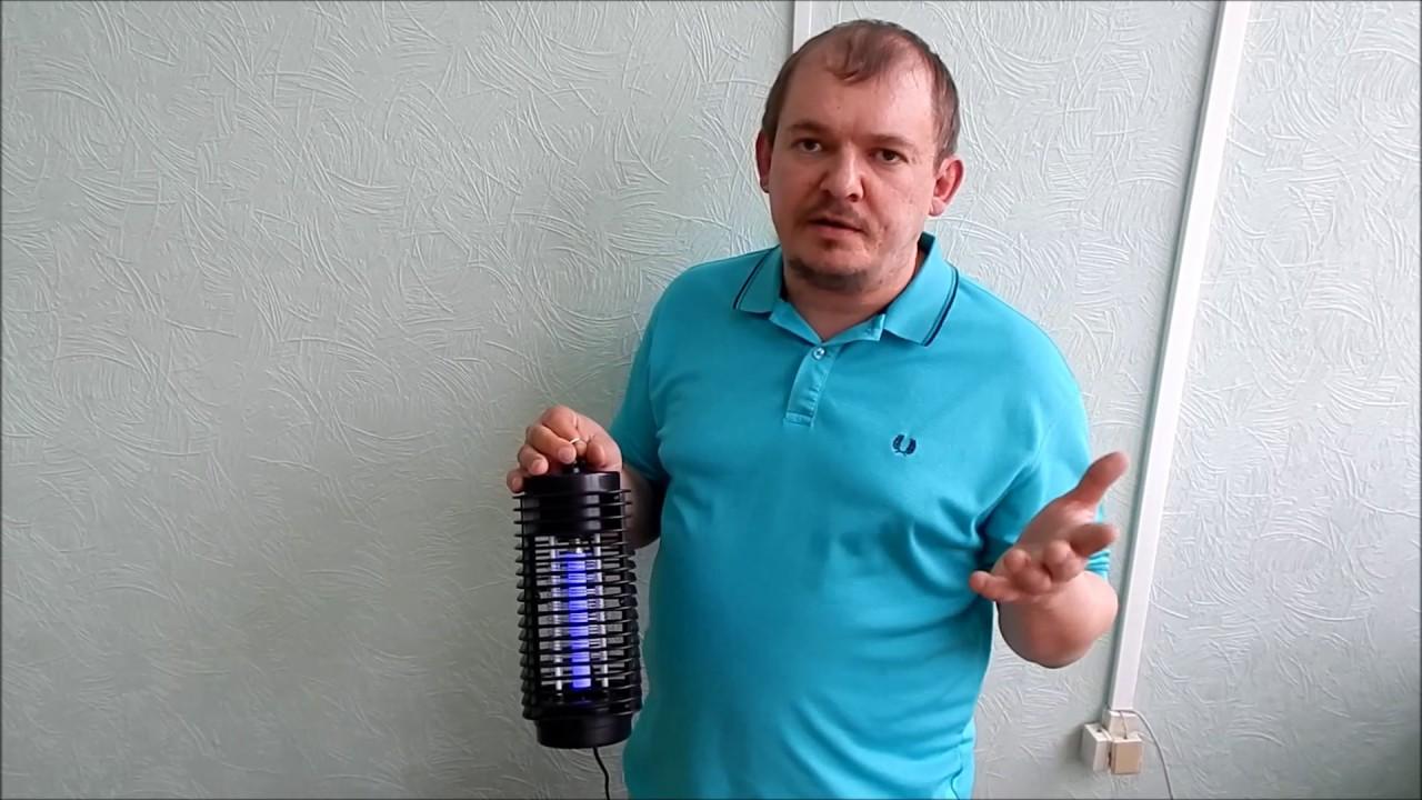 Электрический Убийца комаров с Алиэкспресс Обзор Цена Купить - YouTube