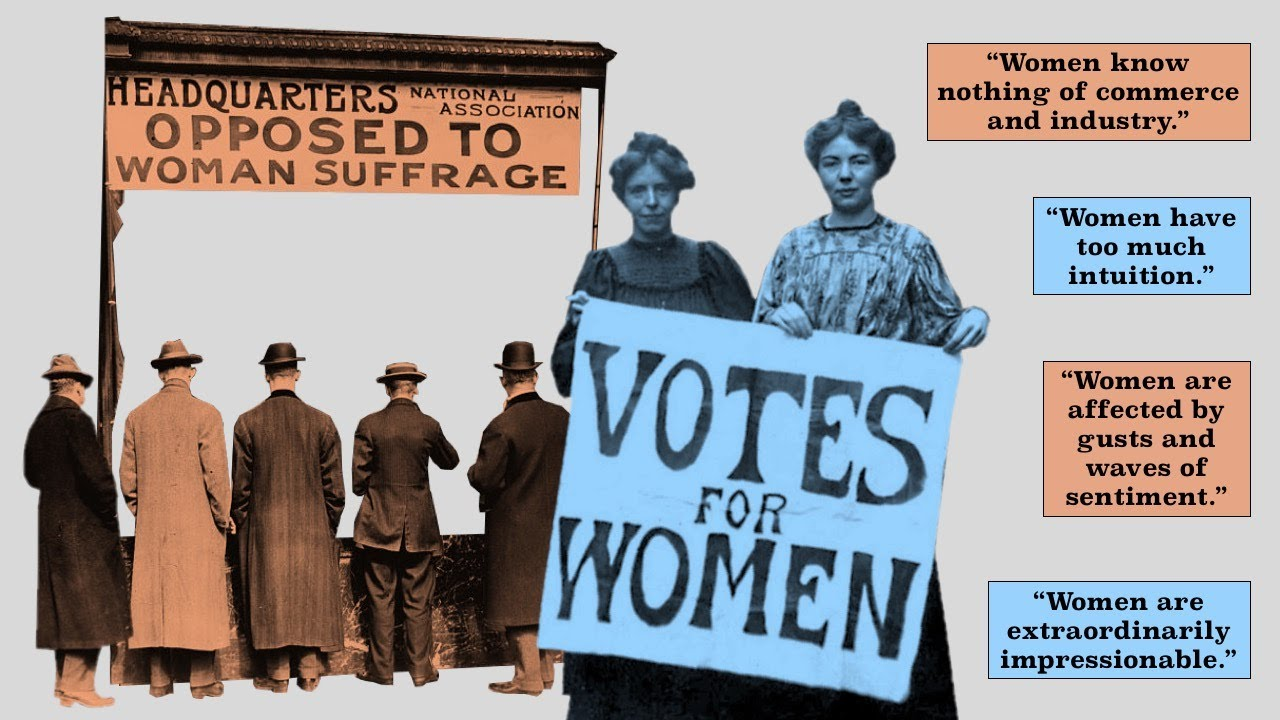 Why It Took So Long for Women to Get to Vote