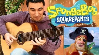 Download SpongeBob SquarePants INTRO THEME -  8 String Guitar (Marcos Kaiser) MP3 song and Music Video