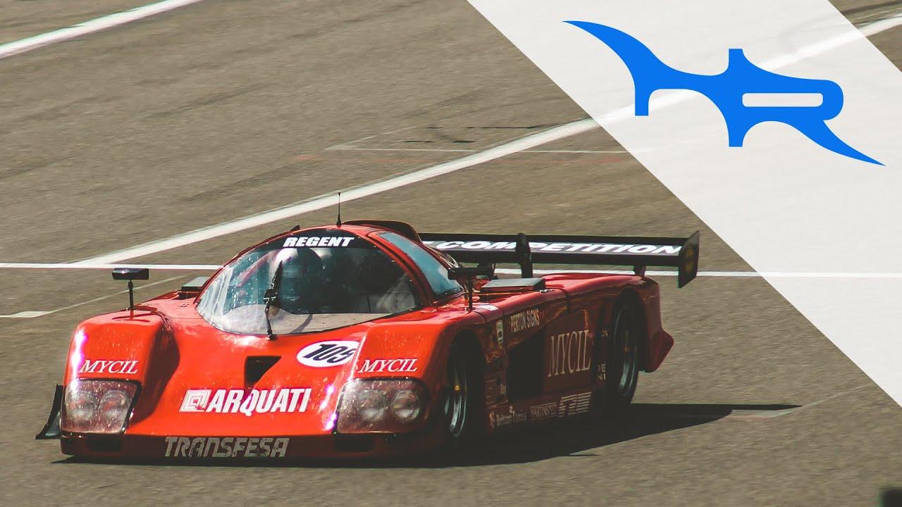 1988 ADA Group C Race Car (Very Nice V8 Sound) - YouTube