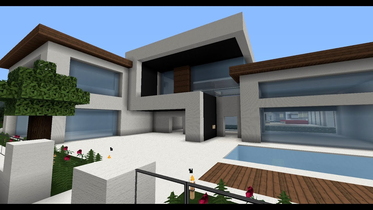 moderne minecraft h user wolkenkratzer modernes haus best modern house skyscraper city. Black Bedroom Furniture Sets. Home Design Ideas