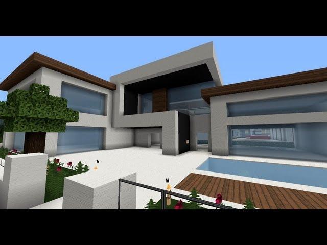 Eisregen Moderne Minecraft Hauser Wolkenkratzermodernes Haus - Minecraft riesige hauser