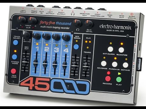 How To Loop (How I Loop): Electro-Harmonix 45000 Full Demo