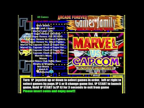 3000in1 Games Family - Arcade Jamma PCB - Hacked and Running on a Regular PC + Update
