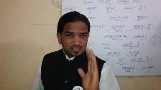 Learn Malay Language through Hindi.