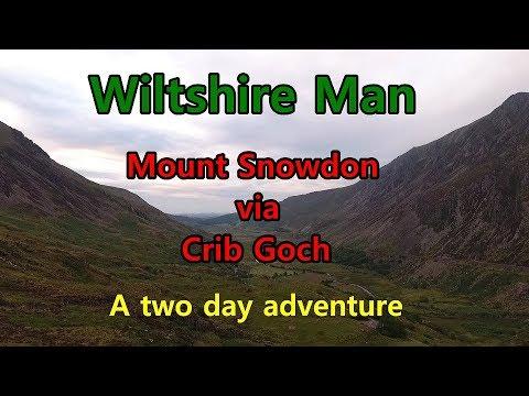 Snowdon Via Crib Goch And Camping Adventure WILTSHIRE MAN